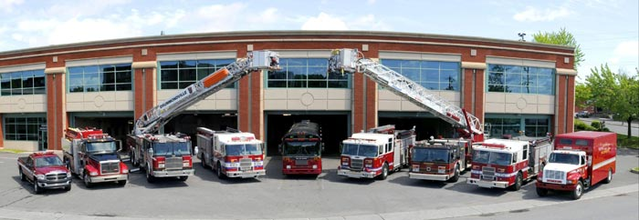 Les v hicules des pompiers for Piscine portative