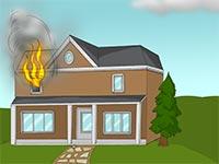 Sortir rapidement de ta maison en feu for A quoi ressemble ta maison